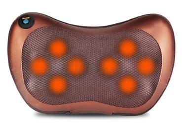 Възглавница за Шиацу масаж с 8 глави и инфрачервено излъчване