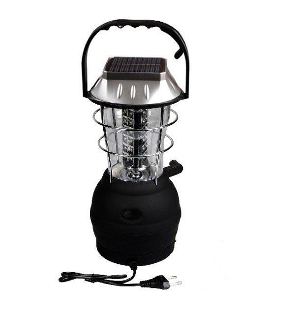 Соларен фенер (мобилна зарядна станция) 5 начина на зареждане