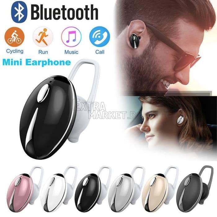 Bluetooth слушалка във форма на калинка-двойно свързване