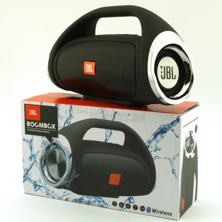 Мощен компактен JBL Bluetooth Boombox високоговорител