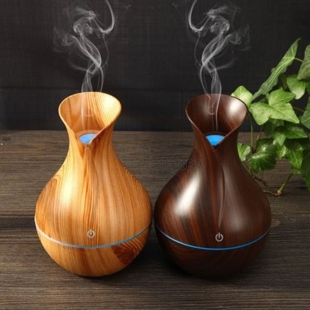 Иновативен USB овлажнител за въздух във форма на ваза