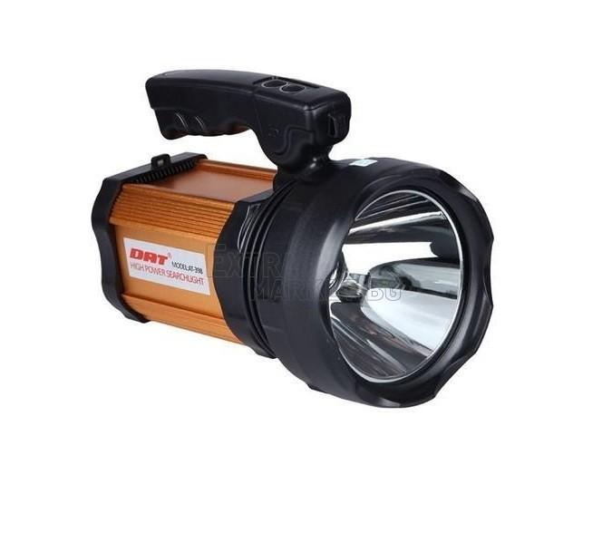 Фенер DAT AT-239 с вградена акумулаторна батерия и страничен осветителен панел