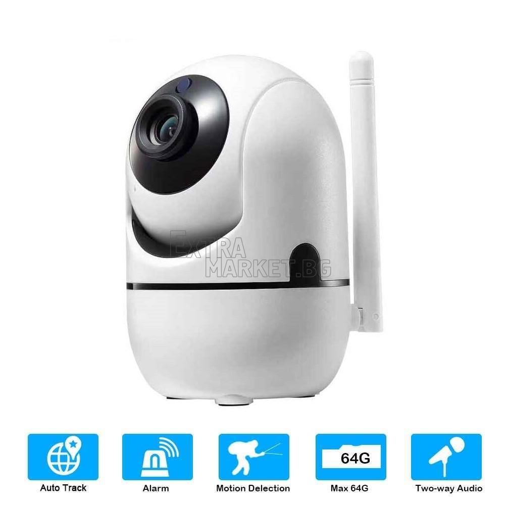 Мини безжична моторизирана Wireless камера (бейбифон, домофон)