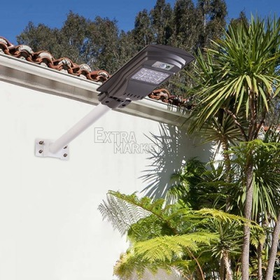 Соларна улична LED лампа (20,40,60 W) с датчик за движение