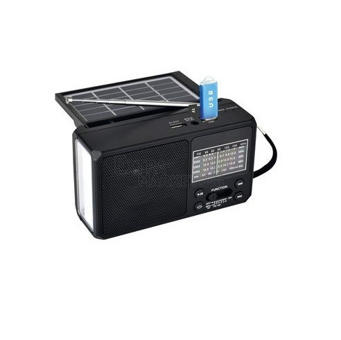 FM Bluetooth радио със соларно зареждане
