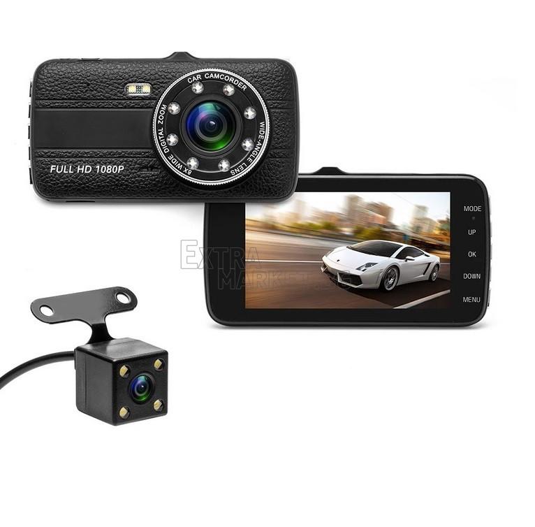 Видеорегистратор 8 LED диода Dual Lens FULL HD 1080P
