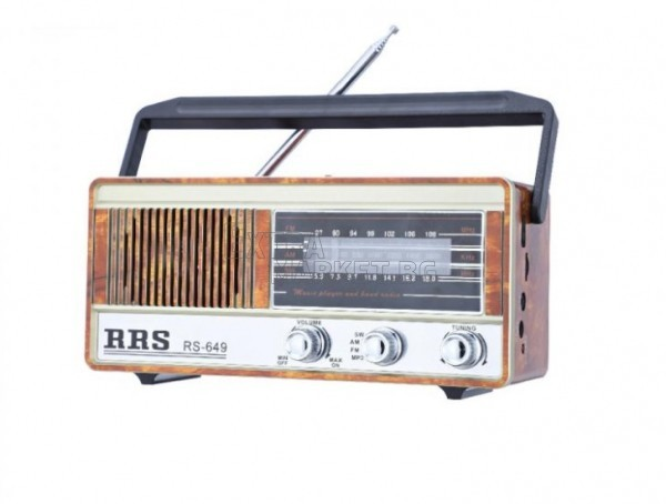 Радио-музикална RRS система bluetooth с фенер