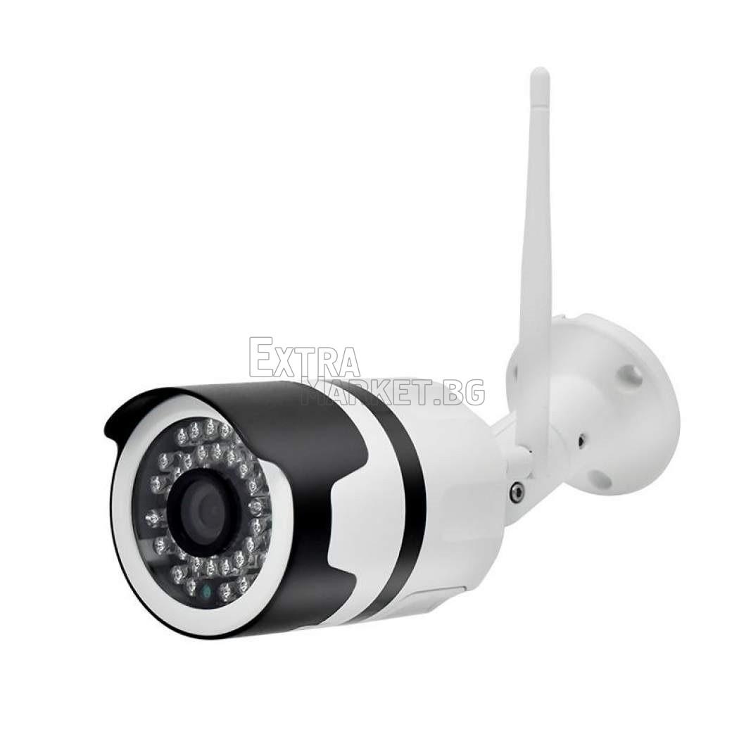 Безжична охранителна WI-FI HD IP/P2P/2 MP камера