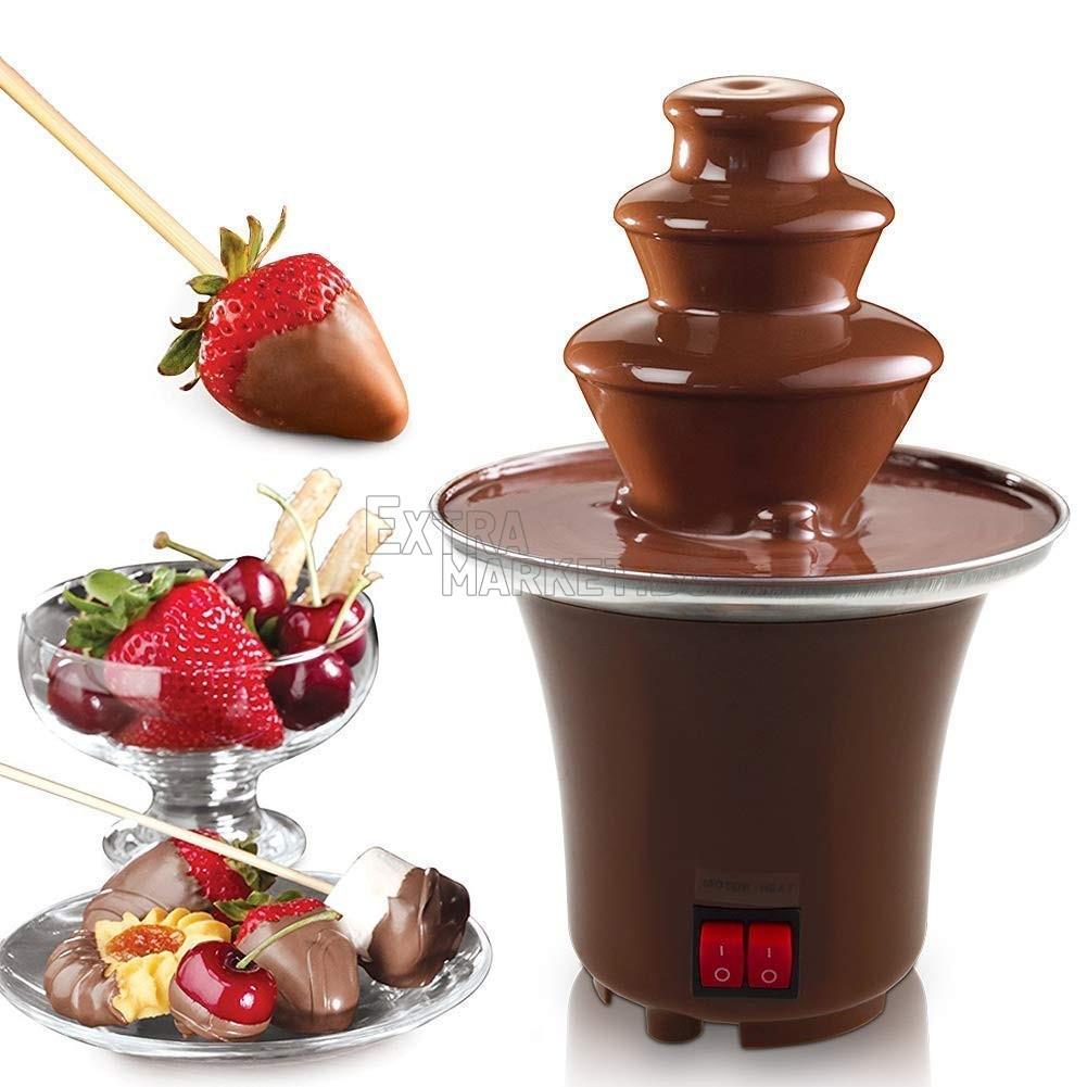 Фондю шоколад с шоколадов фонтан в домашни условия