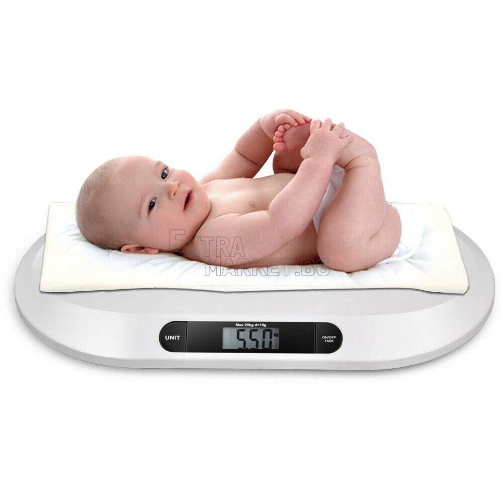 Дигитален прецизен кантар за измерване тегло на бебе