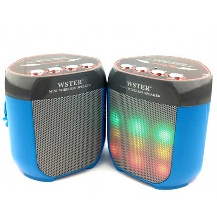 Bluetooth/МP3/FM/LED диско ефект колонка