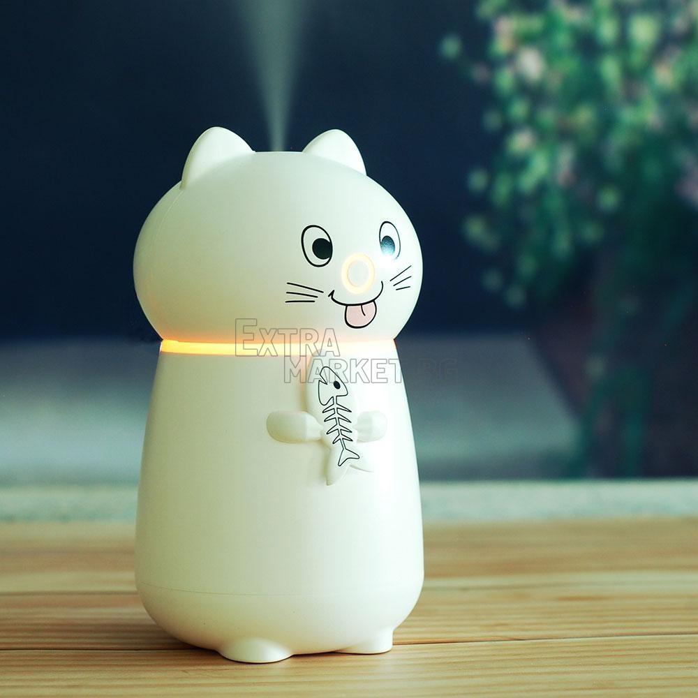 Иновативен USB овлажнител за въздух-котка