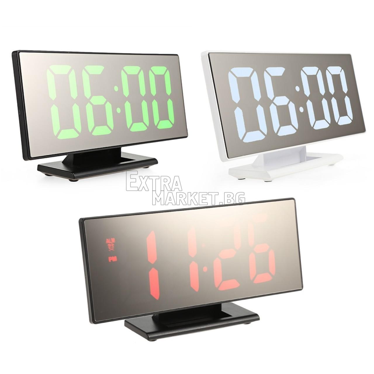 LED цифров огледален часовник