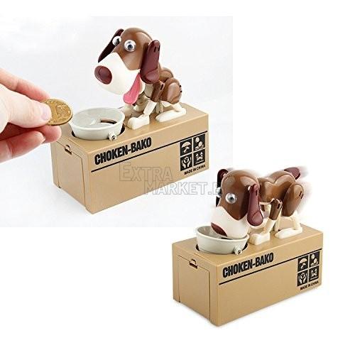Детска забавна касичка куче