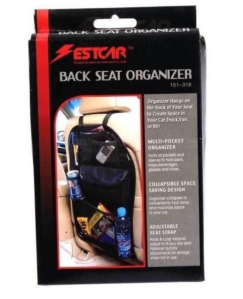 Органайзер за кола - задна част на седалка